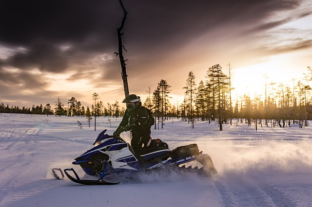 Snowmobiles: Hazardous Terrain to Watch For