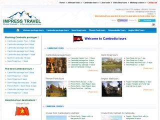 Welcome to Cambodia tours