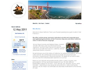Russian Tour Agency in San Francisco - Nava California Travel