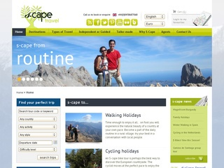 S-Cape Travel - Walking & Cycling Holidays specialist in Europe