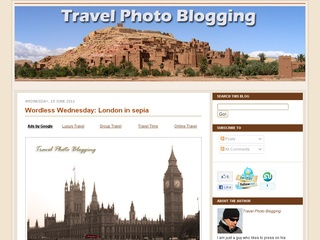 Travel Photo Blogging