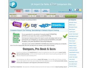 UK Airport Car Parks