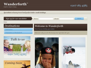 Wanderforth Luxury Holidays