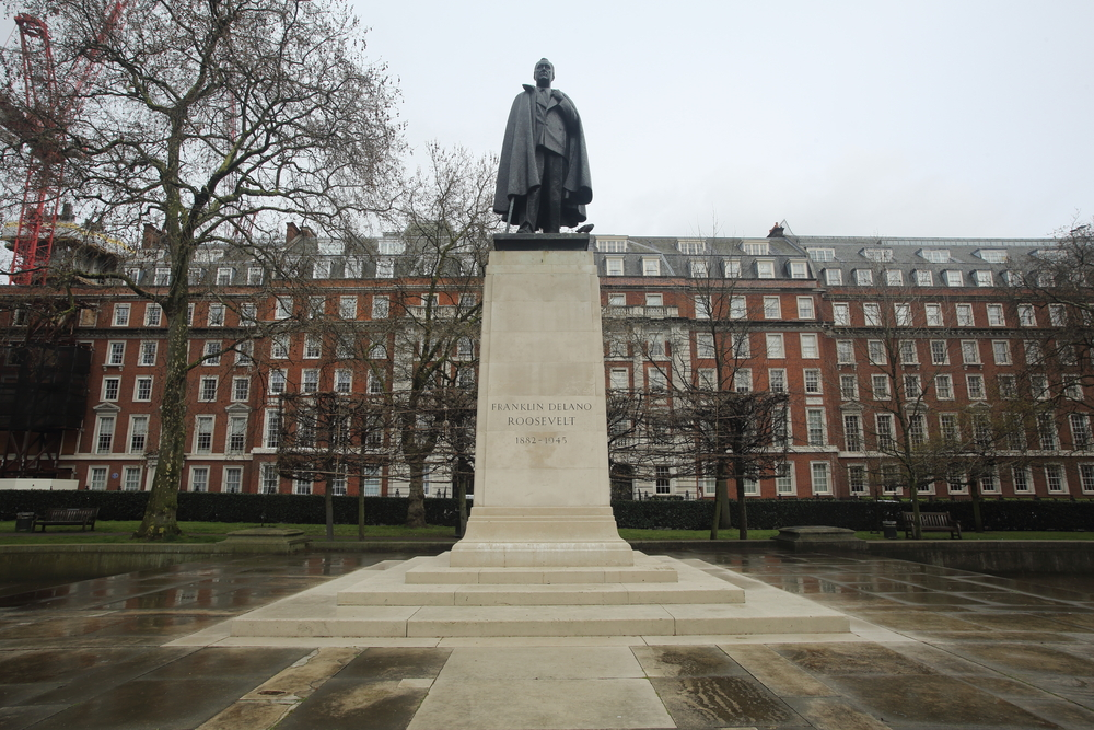 London's historical American connection – Grosvenor Square
