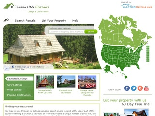 Canada USA Cottages