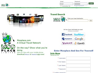 Social Travel Website