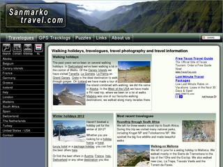 Sandra and Marko's walking website