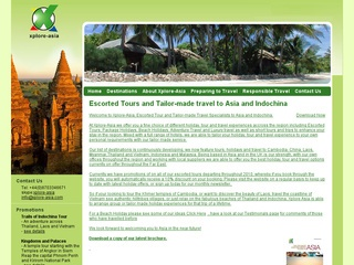 Xplore-Asia Tours and Travel Specialists to Asia and Indochina